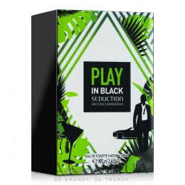 Antonio Banderas Play in Black Seduction for Men