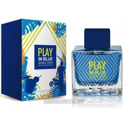 Antonio Banderas Play in Blue Seduction for Men