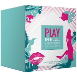 Antonio Banderas Play in Blue Seduction for Women
